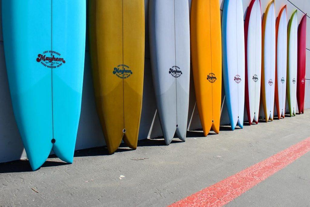 tablas de surf lost