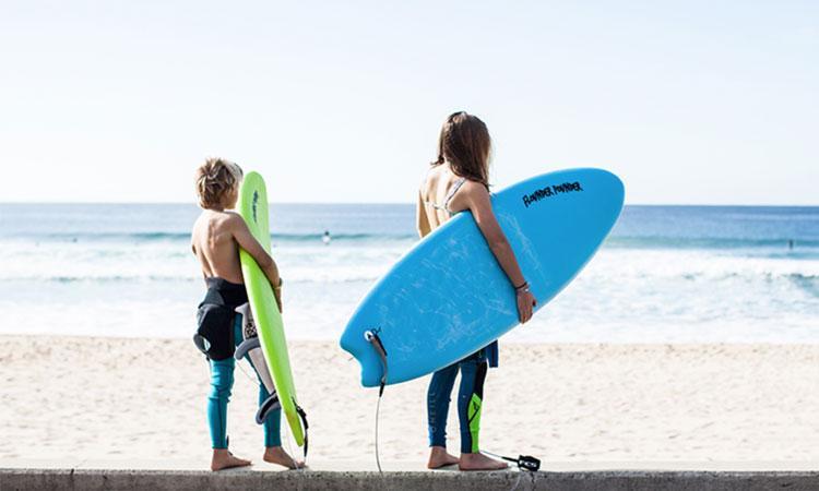 tablas de surf para niños principiantes
